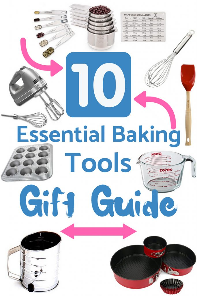 Buy baking tools that will last the distance and be used for many years. Buy quality over quantity.