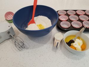 baking tools on my bench