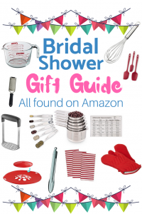 Bridal shower gift ideas. Read the guide and all gifts are available on Amazon