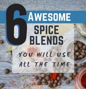 Spice blends you can make