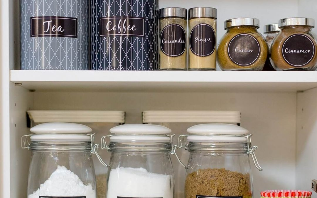 Pantry labels for organization