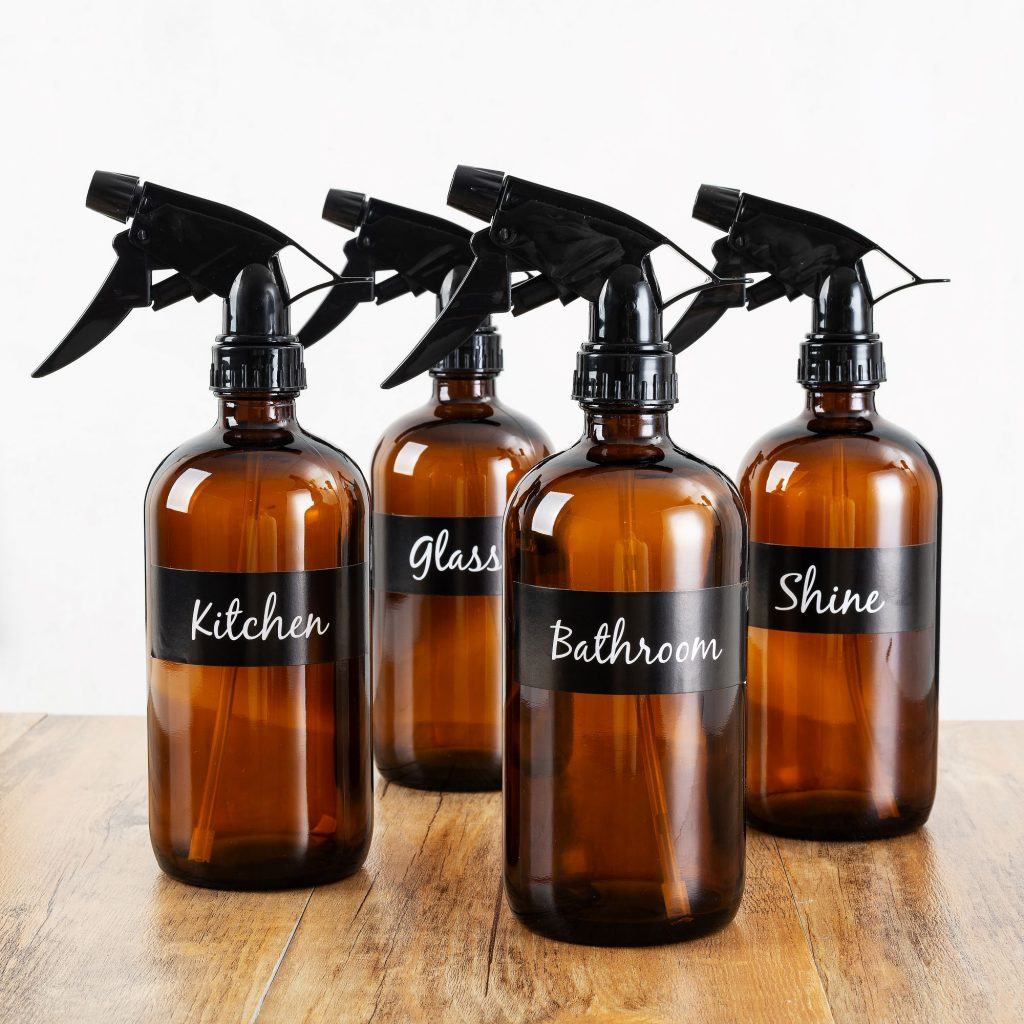 spray bottles for essential oil recipes
