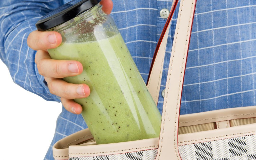 Plan Ahead to get your Smoothie fix in the Morning