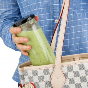 Take your smoothie jar with you
